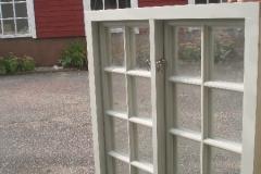 Fönster till Förvaltarbostaden tillhörande Snogeholmsslott