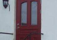 Det färdiga resultatet - enkeldörren