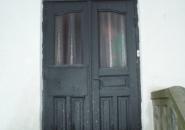Ursprungsdörren - pardörr med vackert överljus