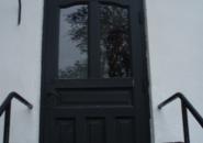Ursprungsdörren - enkeldörr med överljus