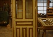 Färdig! Kunden målar dörren själv