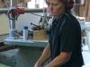 Jane i arbete i Snickarboden